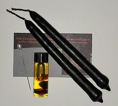 Black Spell Oil Candle 2 Pack