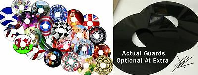 Wheelchair Spoke Guards stickers Cover protector 100s Designs Mobility Aid