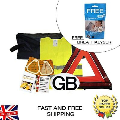 Travel Motoring Abroad Euro Car Kit Austria Belgium France Italy FREE DELIVERY