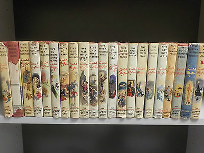 Enid Blyton - The Famous Five - Full Set!- 21 Books Collection! (ID:40704)