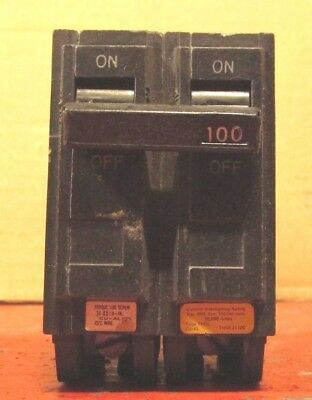 GE General Electric THQL21100 100 Amp Circuit Breaker