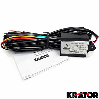 Vehicles LED Daytime Running DRL Fog Lights Controller Module Relay Turn Signals