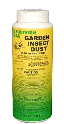 Garden Insect Dust with Permethrin - 1 Lbs.