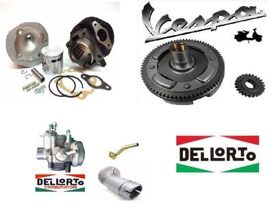 Kit Modifica Cilindro Dr 102Cc + Campana 24/72 + Carburatore 19/19 Vespa 50 Pk S