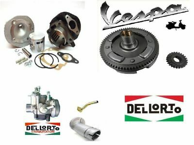 Kit Modifica Cilindro Dr 102Cc + Campana 24/72  Carburatore 19/19 Vespa 50 Pk Xl