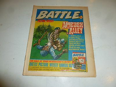 BATTLE PICTURE WEEKLY Comic - Date 05/11/1977 - UK Paper Comic