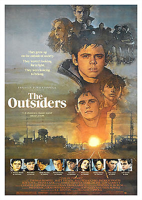 The Outsiders (1983) - A1/A2 POSTER **BUY ANY 2 AND GET 1 FREE OFFER**