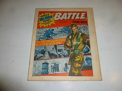 BATTLE PICTURE WEEKLY Comic - Date 12/11/1977 - UK Paper Comic