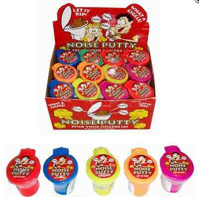Noise Putty In Toy Toilet Children Party Bag Gift (Assorted Colours)
