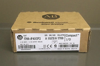 NEW SEALED 1769-IF4XOF2 Allen Bradley PLC Analog I/O Module 1F4X0F2 QTY