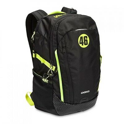 Ogio 2016 VR46 Apollo Backpack Black/Optic Green - Limited Edition BRAND NEW!!