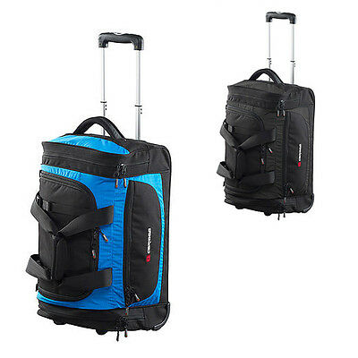 CARIBEE TECHNIC ROLLER 55CM / 46 LITRE Travel Trolley Bag Luggage Wheeled Wheely