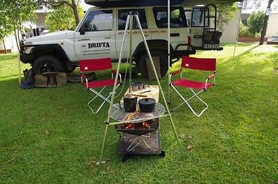 New Snow Peak Tripod Stand Camping Outdoor Open Fireplace St-130R
