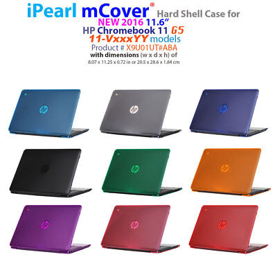 """NEW CLEAR mCover® HARD Shell CASE for 2016 11.6"""" HP Chromebook 11 G5 series"""
