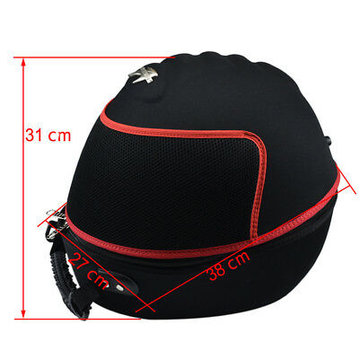 Motorcycle Lightweight Carrying Case Vented Shoulder Helmet Bag Helmet Case US