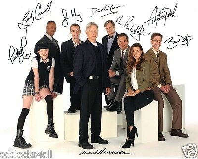 NCIS Cast Signed REPRINT 8 x 10 GLOSSY Photo Picture