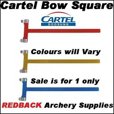 Cartel Bow T Square for archery recurve compound and longbow colours vary