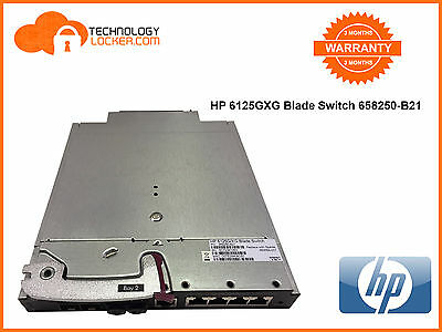 HP 6125G/XG Blade Switch 658250-B21