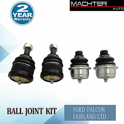 Machter Ford Ball Joint Kit Falcon Fairlane AU 1/2/3 BA BF Front Upper Lower
