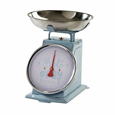 Blue Stainless Steel Bowl Kitchen Scales Bake My Day 1905S Themed