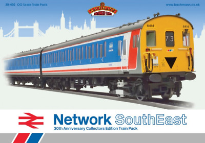 Bachmann 30-430 Capital Commuter Network SouthEast Train Pack OO Gauge