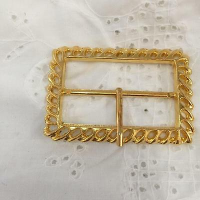 Beautiful Gold Buckle  (metal)