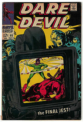 Marvel Comics DAREDEVIL Issue 46 The Final Jest! VG+