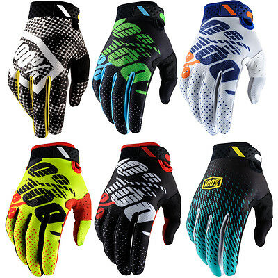 2017 100% Ridefit Motocross Gloves Enduro Racing Mtb Bmx 100 Percent New Bike