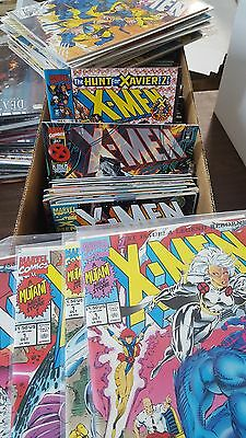 X-men Comic Lot 1991 full series 1-275 annual 1 2 3 '95 '96 flashback vf+ new ba
