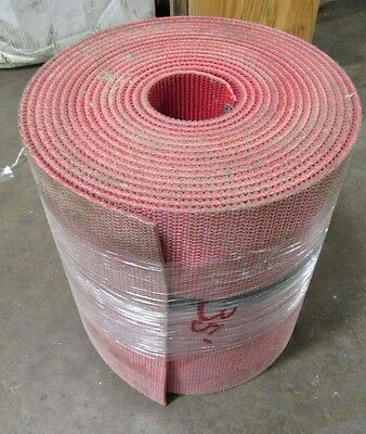 "New No Name 16"" X 35' Red Rubber Conveyor Belt"