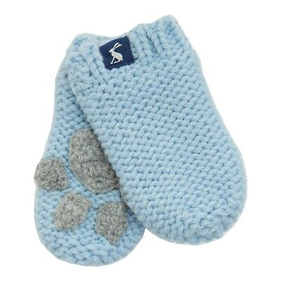 Joules Baby Mittens - Sky Blue