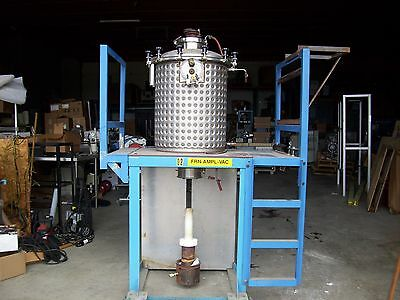 54 Gallon Walker Stainless Steel Jacketed Tank .25 Cu Ft T304 Furnace