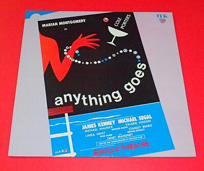 "Cole Porter`s  ""Anything Goes""  -- LP / Musical"