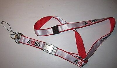 Airbus A380 Love at first flight Schlüsselband Lanyard NEU (A52v)