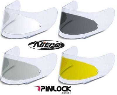 Pinlock Antifog Insert For All Nitro Helmet Visors