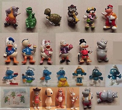 Kinder Ferrero Surprise Figure Serie Germania Donald Micky Hippo Disney Tao Tao