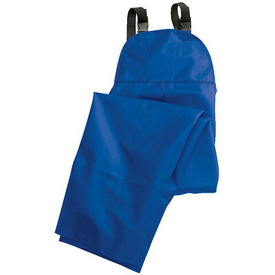 Rain Bib - Construction Grade by Dutch Harbor Gear - Blue - 3XL