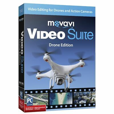 Movavi Video Suite Drone Edition 1 PC Box
