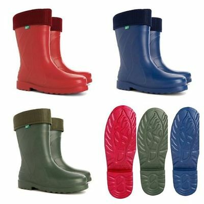 New Thermal -30c  LIGHTWEIGHT EVA Wellies Wellingtons Rain Boots Womens Ladies