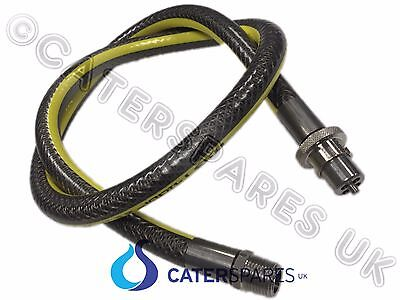 """1/2 Inch Universal Oven Cooker Gas Hose Bayonet Straight Pipe 4Ft 1/2"""" Lpg Nat"""