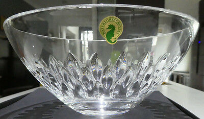 "Stunning BNIB Waterford Crystal ""Quinn"" Salad/Serving Bowl 8""/200cm diameter"
