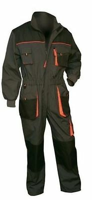 NEW Mens Coverall Overalls Boiler Suit Work Dungarees Multi Pocket Knee Pad UK