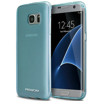 For Samsung Galaxy S7 Edge PROWORX Premium TPU Rubber Case Cover Mint Green