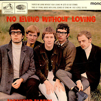 "Manfred Mann - No Living Without Loving (Vinyl 7"" - 1965 - UK - Original)"