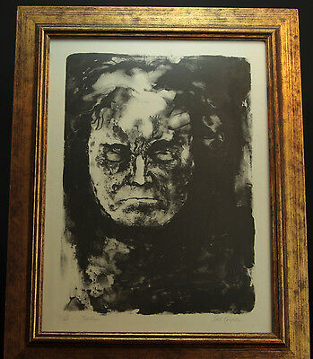 """Jack Coughlin Signed and Numbered 1/40 Limited Edition """"Beethoven"""" Etching"""