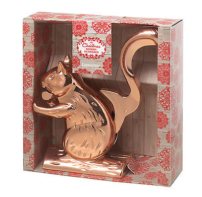 Eddingtons Christmas Copper Squirrel Nutcracker 21cm tall