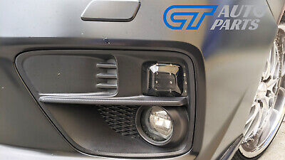 Front Smoke Black LED Indicator Lights for Subaru WRX STI 2015+