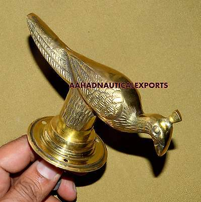 Brass Peacock Handle Antique Finish Brass Door Pull