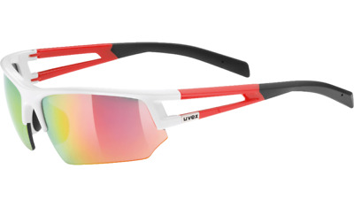 Uvex Sportstyle 110 Sportbrille - white red
