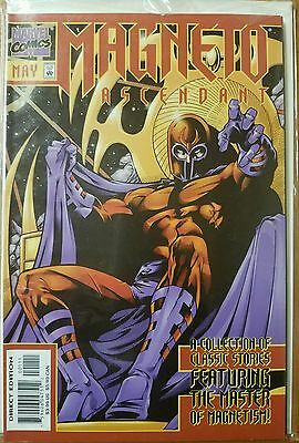 Magneto Ascendant # 0 Purple Foil 1 Nm- Set Uncanny X-Men 1 Key Comic 2